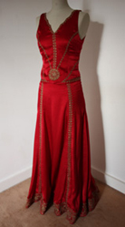 Robe mariee rouge